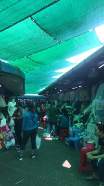 Das erste Mal auf dem Central Market